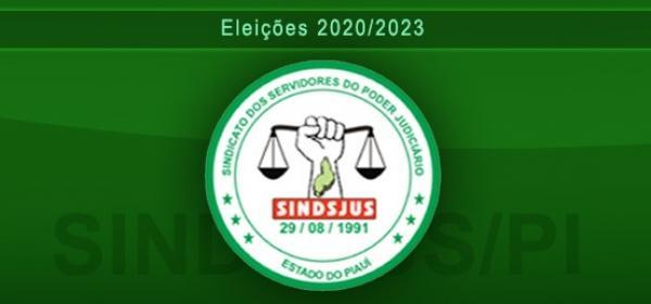 Eleições Sindsjus/PI. Edital para registro de chapas