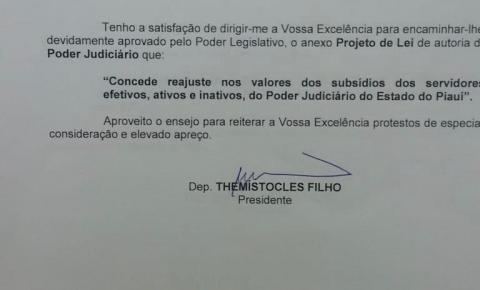 Reajuste do subsídio  dos servidores está dependendo  apenas do Governador Wellington Dias