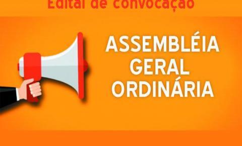 Edital de Convocação para Assembleia Geral Ordinária - Instauração do Processo Eleitoral