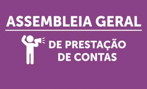 Edital de Convocação para Assembleia Geral Ordinária de Prestação de Contas